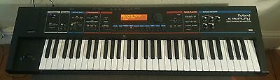 Roland Juno Di Digital Synthesizer With Manual, Editor Disc & Video Manual