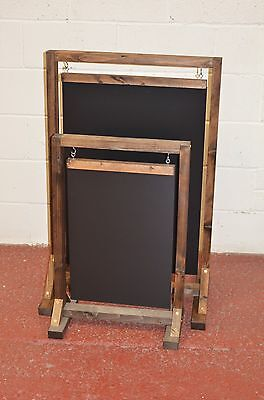 A Wooden Swinging Pavement Sign A-Board Chalkboard / Cafe / Shop/ Pub