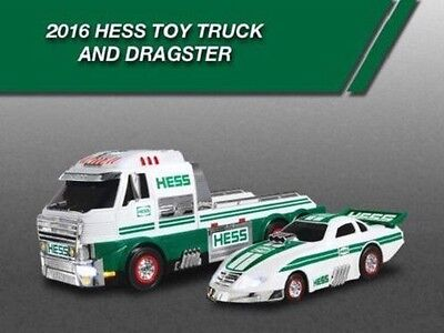 2016 Hess Toy Truck & Dragster Brand New Unopened Box -CHRISTMAS GIFT-IN STOCK