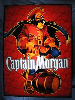 Captain Morgan Red Pirate Lighted Bar Sign