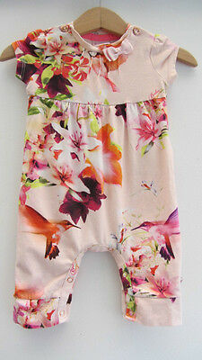 Baby Girl Floral Ted Baker Babygrow 0-3 months