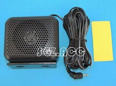 3.5mm Mini External Portable Speaker For Uniden GME Icom Mobile CB Radio