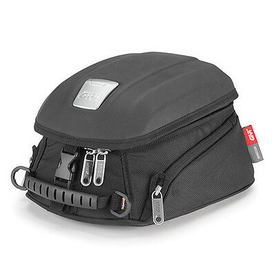 Givi MT504 Motorcycle Motorbike Magnetic Tank Bag 5 Litre - Black