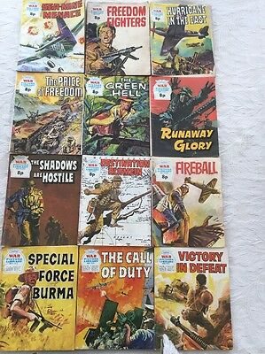 12 War Picture Library Comics