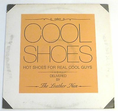 """The Leather Nun - Cool shoes   UK 12"""""""