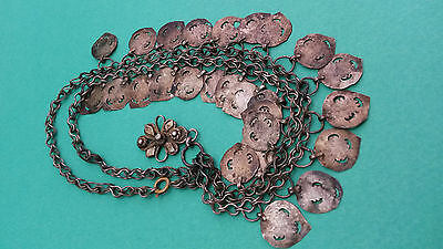 Antique Ottoman Turkish Islamic Silver Nicklace