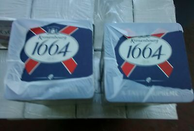 Joblot 200 KRONENBERG 1664 Lager Beer mats  New