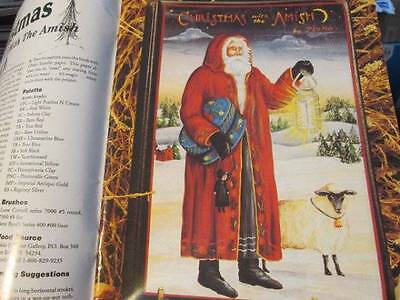 Artist's Journal Winter 1992 #11-Pipka-Christmas With Amish/Wise-Belsnickle/Jo S