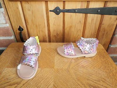 Toddler Girls Sandals by Smart fit size 8 1/2 M    NEW IN BOX