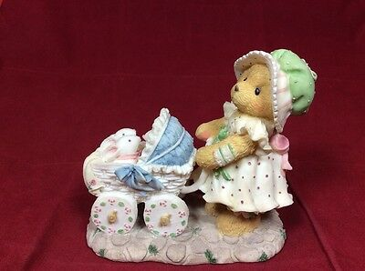 155438 CHERISHED TEDDIES FIGURINE JESSICA A Mother's Heart is Full of Love 1995