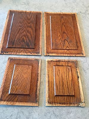 Vintage Oak Kitchen Cabinet Door Panels