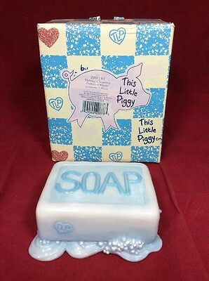 "Nos This Little Piggy ""spring Cleaning"" Bar Of Soap Tlp 298131 Individual Risers"