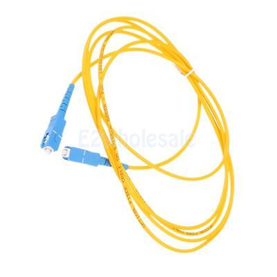 9/125 Single-Mode Fiber Optic Cable Patch Cord SC to SC