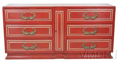 VMD1052 French Style Painted Dresser attributed to Grosfeld House