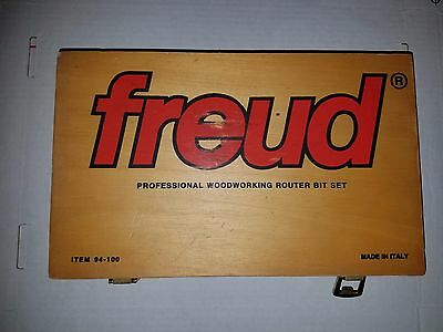 Freud 94-100 Cabinet Router Bit Set