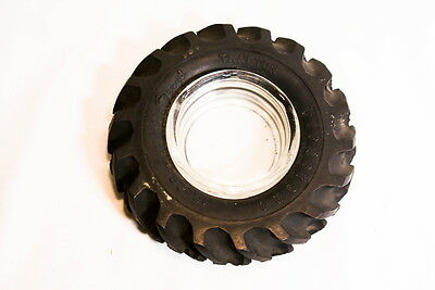 Vintage Firestone Tire Tractor 13-28  Gum Dipped Promo Advertisement Ashtray #3