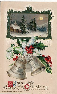 Early 1900's Winsch Christmas  Postcard - Selling Lot Of Cards