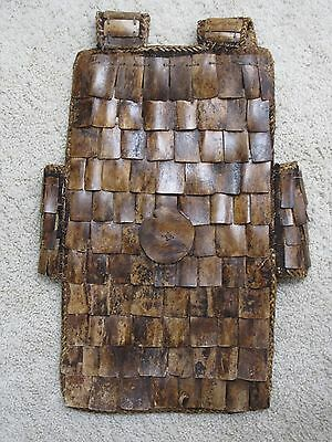 Warrior'S Bone Armored Vest From Sulawesi / Indonesia