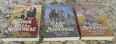 Judith Pella Michael Phillips The Stonewycke Trilogy Lot of 3 Books Complete