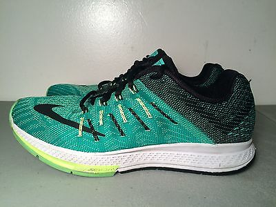 outlet store ac088 a4d34 Nike Air Zoom Elite 8 Running Shoe Green Size 8.5