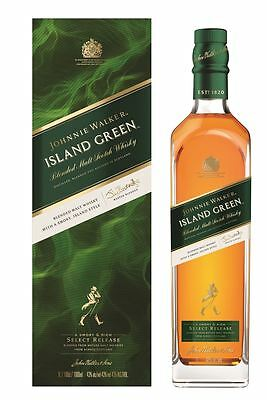 New Johnnie Walker Island Green Label Malt Scotch Whisky 1000mL SPECIAL RELEASE