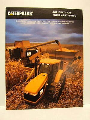 CAT Agricultural Equipment Guide - Challenger Tractors, Lexion