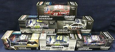 Jimmie Johnson - Mixed Lot of 6 Different 1:64 Scale NASCAR Diecast #8