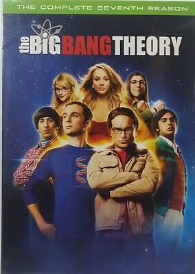The Big Bang Theory: The Complete Seventh Season (DVD, 2014, 3-Disc Set) + New!!