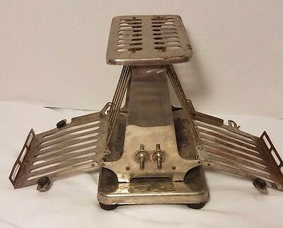 Vintage Rutenber Electric Flipflop Toaster Model 65 - Non-working - Decor Only