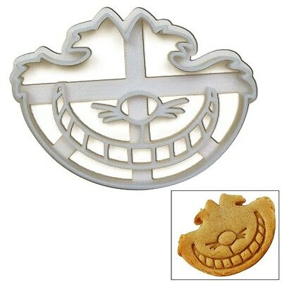 """Cheshire Cookie Cutter, 1 pc, Inspired by """"Alice's Adventures in Wonderland"""" nov"""