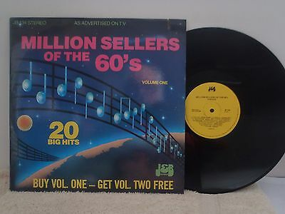 VARIOUS ARTISTS - LP -  MILLION SELLERS OF THE 60's  VOLUMES 1 & 2