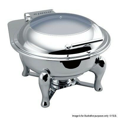 KGJ205 Round Chafing Dish with Glass Lid VALUE