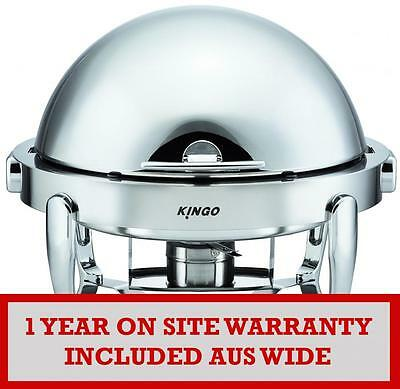 KGB6803G Round Chafing Dish with Chrome Legs VALUE