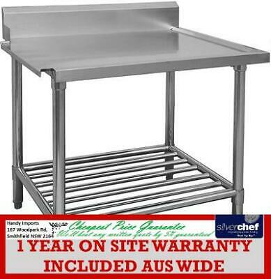 Fed Commercial All Stainless Steel - Left Dishwasher Outlet Bench Wbbd-7-1500L