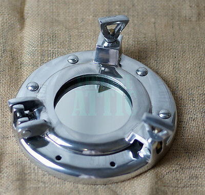 "New Vintage Nautical Porthole Mirror 6.5"" , Maritime Gift"