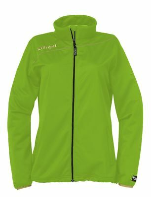 Kempa Womens Ladies Gold Sports Classic Full Zip Jacket Tracksuit Top Green ...
