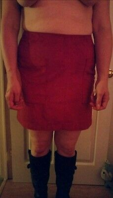 Rusty colour skirt size 14/16