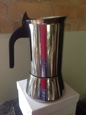 BIALETTI VENUS 4 CUP COFFEE MAKER INDUCTION SUITABLE Used Once