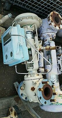 "3"" 600 Flanged Fisher Control Valve Type ET with Type 667 Size 40 Actuator"