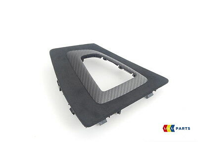 Bmw New Genuine F20 F22 M Performance Gearshift Trim Cover Alcantara Carbon Lhd