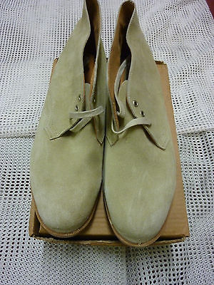 British Army Issue Vintage Style Desert Boots Size 13 Genuine Issue