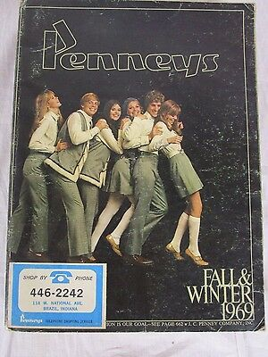 1969 JC Penneys Fall & Winter Department Store Catalog Retro Styles & Fashion