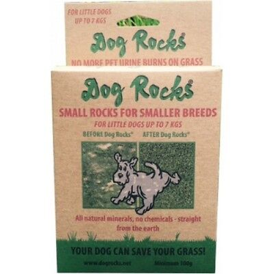Dog Rocks for Small Dogs (100g) - Lawn & Grass Urine Burn Protection