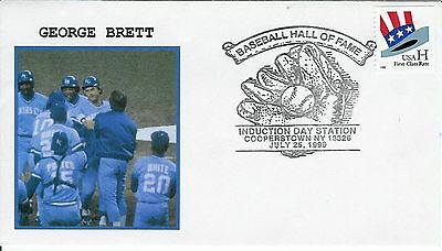 George Brett Kansas City Royals Baseball Hall of Fame Induction Day 1999 Scarce