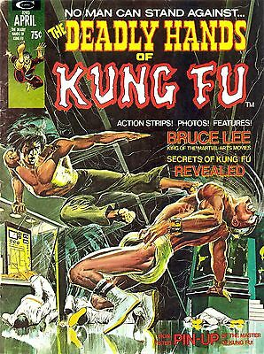 Deadly Hands Of Kung Fu Martial Arts Comic Magazine Collection On Dvd