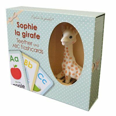 Sophie La Giraffe Teether And Flashcards Set - Brand New