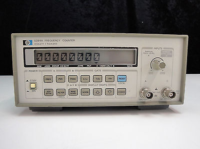 Agilent / HP 5384A Frequency Counter, 10 Hz to 225 MHz