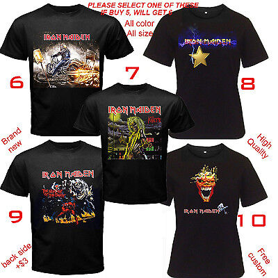 Iron Maiden London heavy metal band T-shirt All Size S,M,L~5XL,Kids,Baby