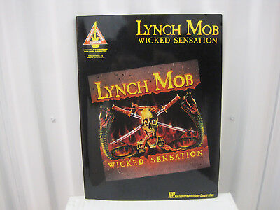 Lynch Mob - Wicked Sensation - Songbook Guitar Tab Book