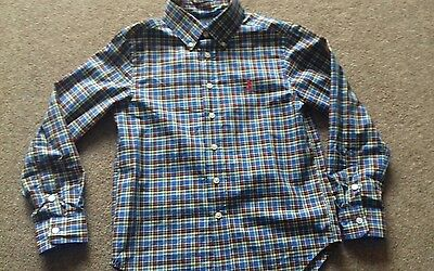 boys ralph lauren shirt age 8